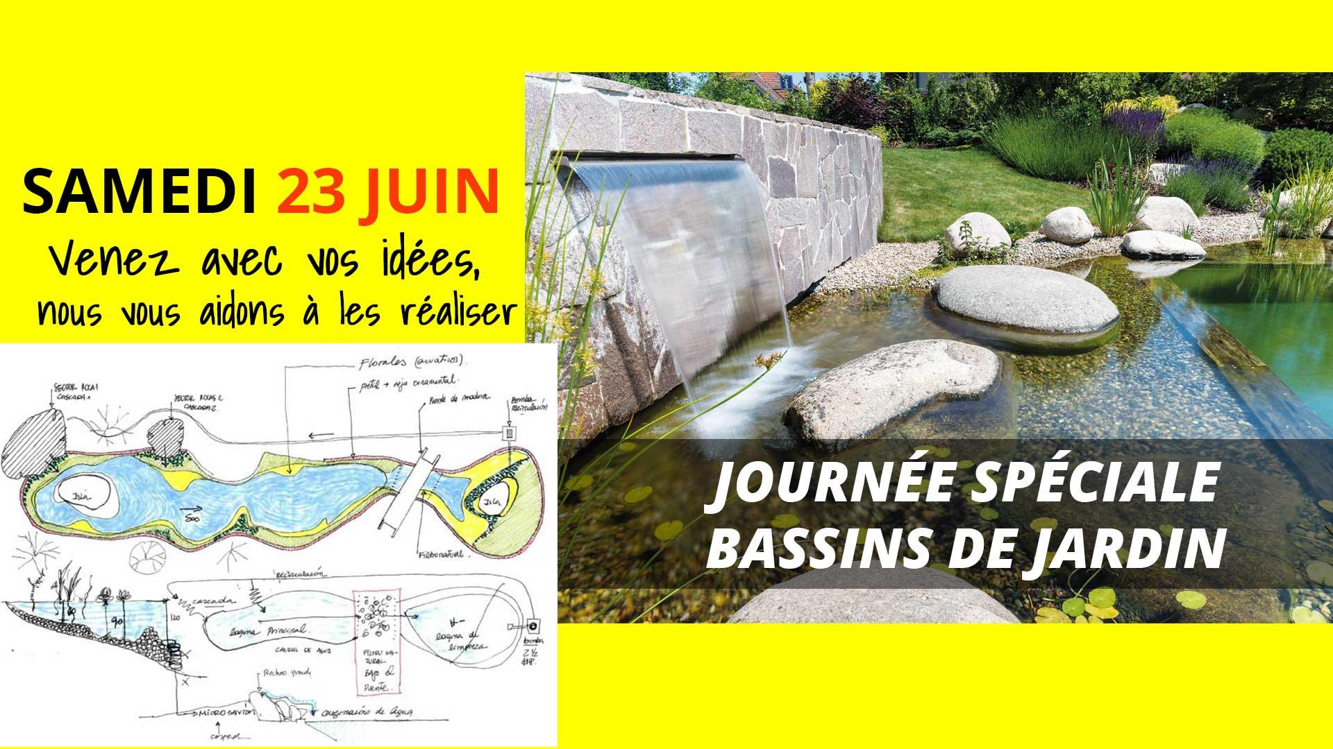 Journée spéciale Bassins de jardin