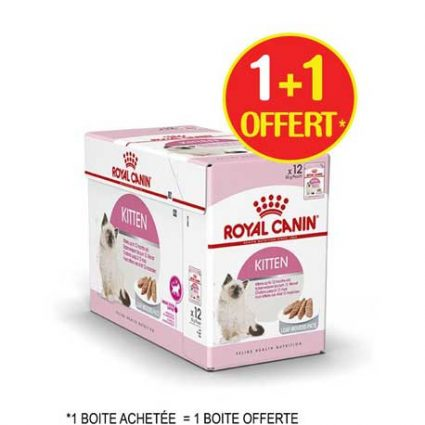 royal canin 1 boite achetée = 1 boite offerte